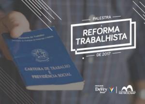Palestra Reforma Trabalhista em Campinas