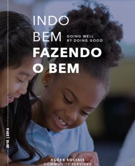 Balanço Social | Programa Indo Bem Fazendo o Bem | Adtalem Educacional do Brasil